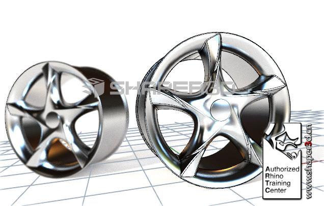 工业产品高级曲面造型课程